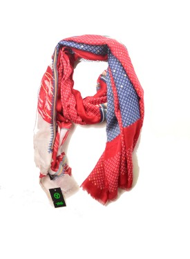 Scarve VERDE FASHION 03-1800 red