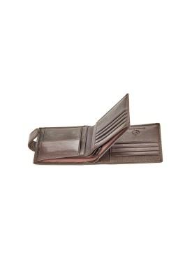 Men's wallet 09-113 black
