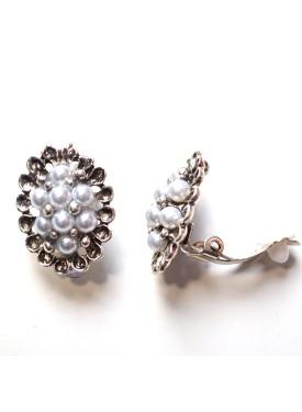 earrings 33-108 silver