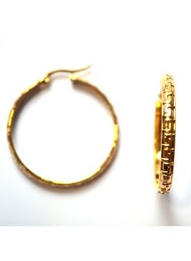 earrings 33-121 gold