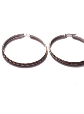 earrings 33-122 silver