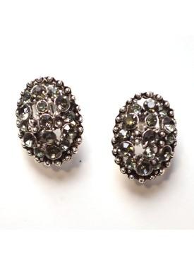 earrings 33-123 grey