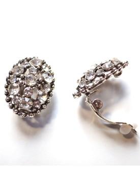 earrings 33-123 white