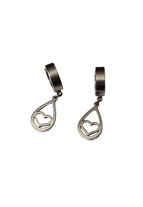 earrings 33-144 silver