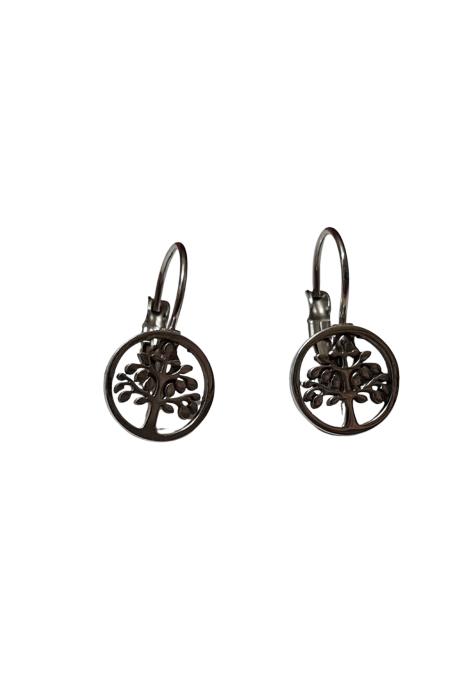 earrings 33-146 silver