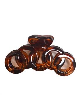Κλάμερ μεγάλο μέγεθος 34-092 brown