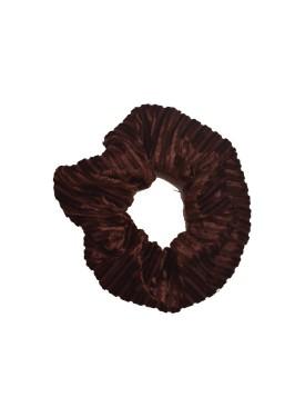 Scrunchie 34-097 brown