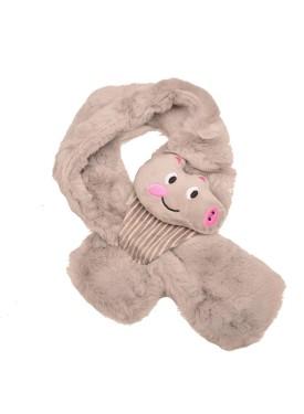 kid's scarve 44-006 grey