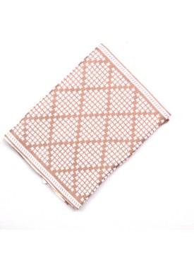 Men's scarve 49-003 beige
