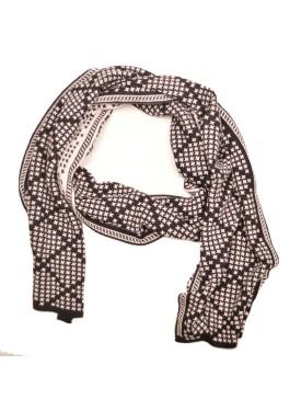 Men's scarve 49-006 black