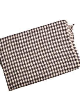 Men's scarve 49-010 black