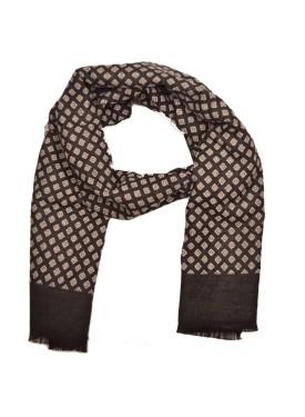 Men's scarve 49-015 black