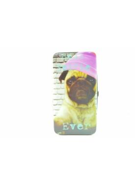 printed wallet as snuff box DOG